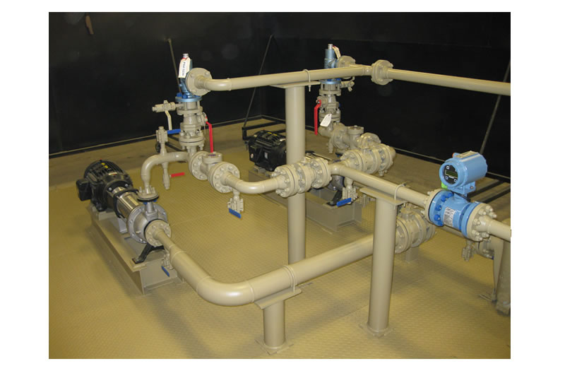 produced water transfer skid
